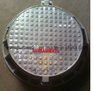 Ductile Iron Casting Manhole Covers with Locking System pictures & photos