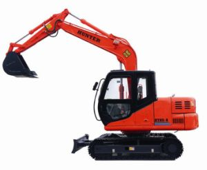 Hydraulic Crawler Mini Excavator Price (HT85-8) pictures & photos