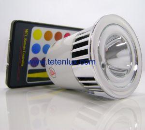 china rgb led spot light multicolor led light bulb rgb. Black Bedroom Furniture Sets. Home Design Ideas