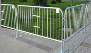 Temporary Hot Dipped Galvanized Barrier