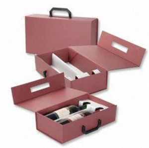 Wine Box with Handle (HS-WB004)