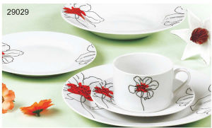 Ceramic Dinnerware, 20PCS Dinner Set (SET29029)