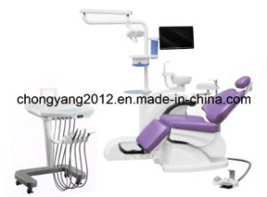 Cy-300 Left-Handed Operating Dental Chair Unit pictures & photos