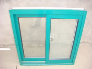 Aluminum Thermal Insulated Sliding Window (ZXJH026) pictures & photos