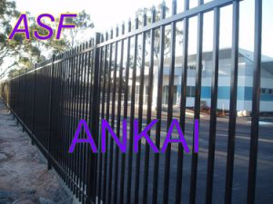 Crimped Top Security Fencing China (ASF-SF04) pictures & photos