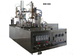 Soy Milk Gable Top Carton Sealing Machine (BW-500) pictures & photos