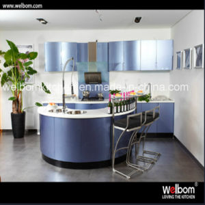 2016 Welbom Modern Lacquer Kitchen Cabinet pictures & photos