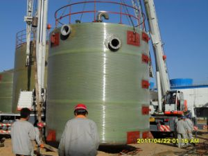 FRP Lined with PVC Tank