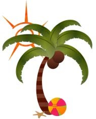 Palm Tree Souvenir Polyresin Fridge Magnet (PMG105) pictures & photos