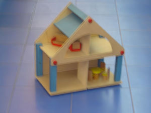 Wooden Toys - House (ZYYB-0033)