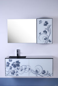Glass Bathroom Cabinet (GB09-906A)