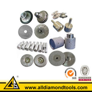 All Kinds of Vacuum Brazed Tools pictures & photos