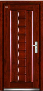Steel Wooden Door (LT-313) pictures & photos