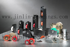 Jinlin Nylon Coated Bearings with Housing pictures & photos