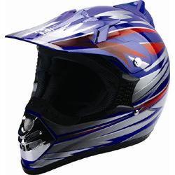 Motorcross Helmet (DP9011-BL)