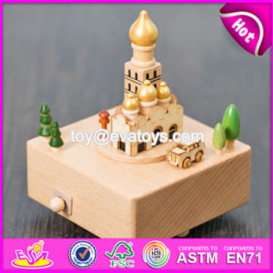 Wonderful Kids Toys Wooden Handmade Music Box W07b044 pictures & photos
