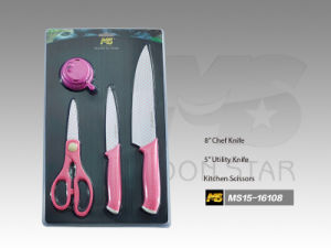 PP Handle Kitchen Knife (MS15-16108)