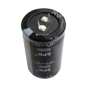 Snap-in Terminal Aluminum Electrolytic Capacitor
