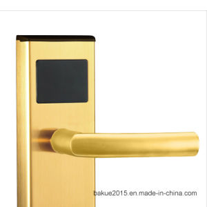 2016 New Electronic Smart Hotel Door Lock with RFID Card pictures & photos