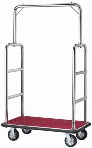 Stainless Steel Luggage Cart (DF18) pictures & photos