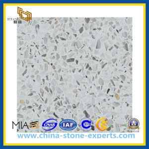 Moeden Colorful Crystal Artificial White Quartz Stone (YQZ-QS1014) pictures & photos