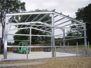 Steel Sheds Size 24X35X19m (BR00020)