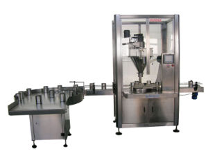 Milk Powder Filling Machine Powder Cans Feeding, Filling and Packaging Machine pictures & photos