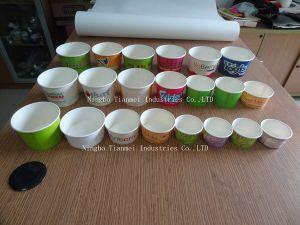Custom Paper Yogurt Cups, Ice Cream Cups pictures & photos