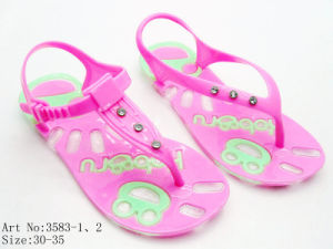Children′s PVC Sandal (3583)
