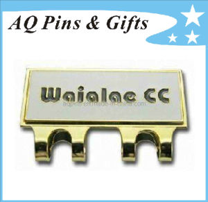 Factory Price Hard Enamel Cap Clip with Golf Ball Marker (golf-04) pictures & photos