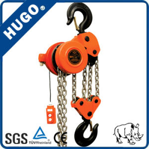 Dhp Type Engine High Effciency Electric Chain Hoist Block 5 Ton pictures & photos