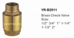 Brass Check Valve Forging, Lathe Finish pictures & photos