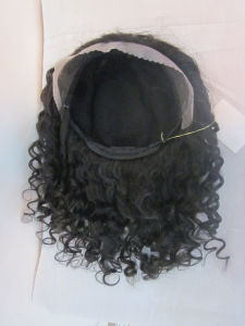 100% Human Virgin Hair Full Lace Wigs pictures & photos
