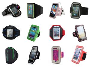 Lycra Sport Armband with Cellphone Case pictures & photos