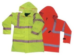 Safety Jacket Made of Waterproof Fabric (LY-COAT)