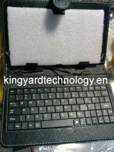 7 Inch Micro USB Keyboard Leather Case