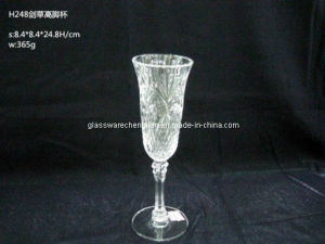 Machine-Made Crystal Champagne Glass (B-CPH248) pictures & photos