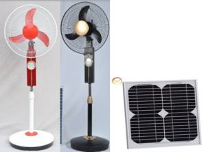 Solar Fans Jsf-12V16k with DC Charger (JSF-12V16K) pictures & photos