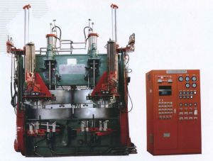 Tyre Shaping and Curing Press-Rubber Machine (LL-B1220X2) pictures & photos