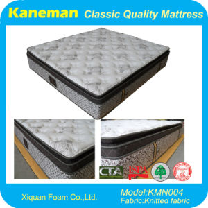 2017 Furniture Double Pocket Spring Mattress (KMN004) pictures & photos