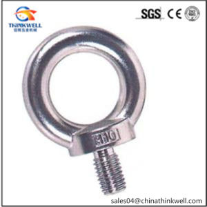 Forged Stainless Steel Eye Screw DIN580 Eye Bolt pictures & photos