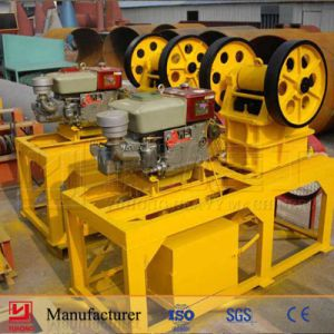 Yuhong CE Approved Small Stone Crushing Machine Small Mobile Stone Jaw Crusher Plant pictures & photos