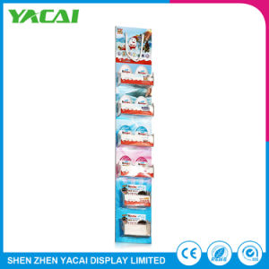 Recycled Connect Floor-Type Paper Rack Exhibition Display Stand pictures & photos