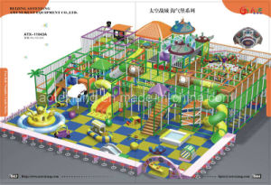 Indoor Playground: Fun Ball-Naughty Castle (ATX-11043A)