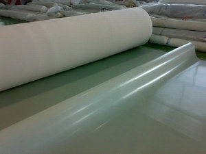 Silicone Sheet, Silicone Membrane, Silicone Roll, Silicone Diaphragm for Wooden PVC Laminator (3A1001) pictures & photos
