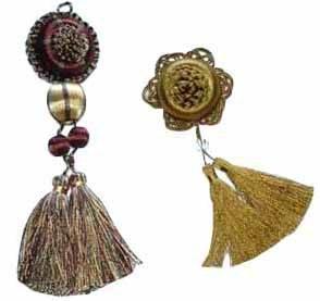 Key Tassel, Chair Tie (QM1009, QM1008A)