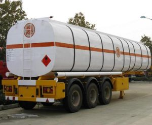 Insulation Fuel Tanker Semi Trailer