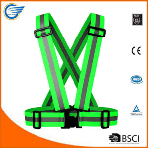 High Visibility Safety Reflective Cycling Vest for Cyclist pictures & photos