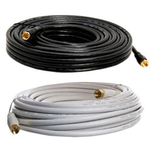 30 Ft Dual Shielded Rg59 Digital Coax Satellite TV Cable pictures & photos