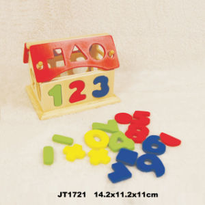 En71 Approved Wooden Toys House (JT1721) pictures & photos